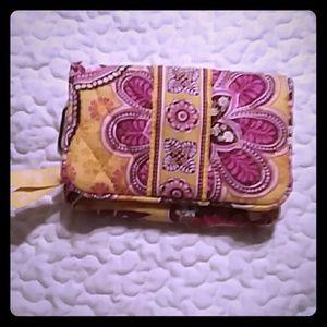 One for the money. Vera bradley Bali Gold pattern